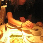 Kelsey Eating Caviar 150x150
