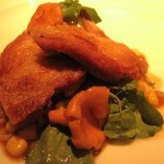 Quail with Corn and Golden Chanterelles 150x150