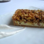 Pine Nut Tart with Dulce de Leche and Ricotta 150x150