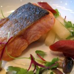 Arctic Char with White Asparagus 150x150