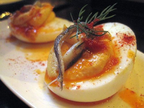 Eggs al Diavolo SPQR 