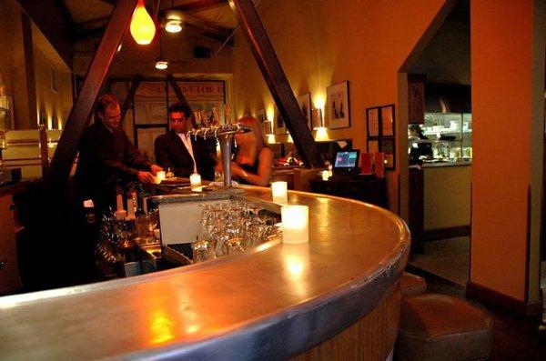 Interior of Cafe Claude