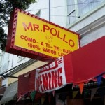 Mr Pollo Sign 150x150