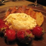 Goat Cheese with strawberries Nopa 150x150
