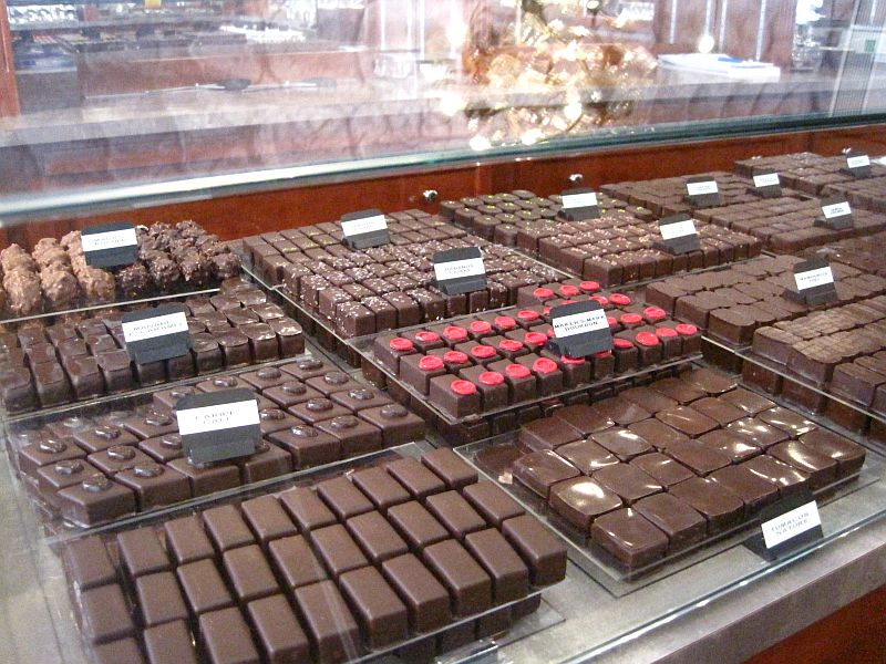 Chocolates at Jean Charles Rochoux