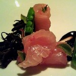 Amberjack with Seaweed Aziza SF 150x150