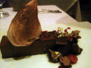 Chocolate Dessert Aziza 300x225