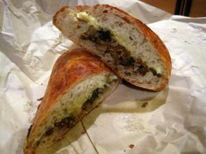 Mushroom Sandwich Salumeria 300x225