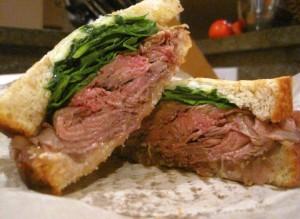 Roastbeef Sandwich Salumeria 300x219